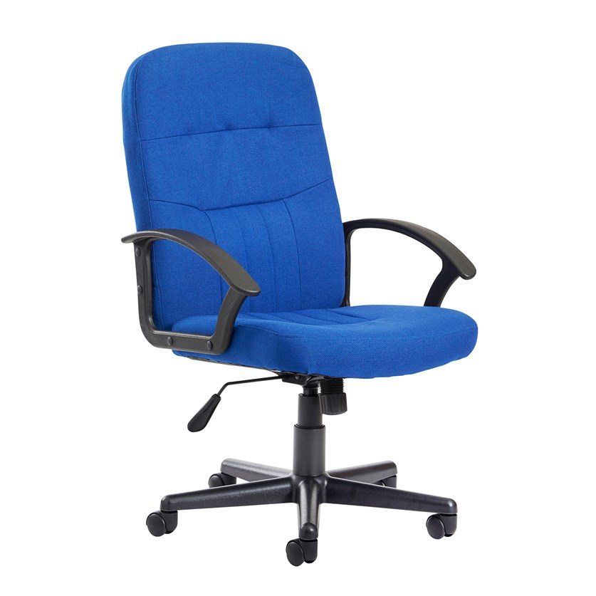 Inova Blue Executive Office Chair With Back Support
