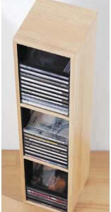 Citrus Cd Tower Holds 45 Cds