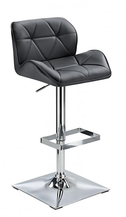 Virtuoso Height Adjustable Bar Stool Padded Seat Swivel
