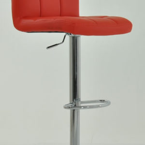 Oceanic Kitchen Breakfast Bar Stool Padded Seat Back 9 Colour Choices Height Adjustable