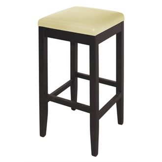 Astro Wood And Faux Leather Padded Stool Choice Of Colours Pair Of 2 Fully Assembled