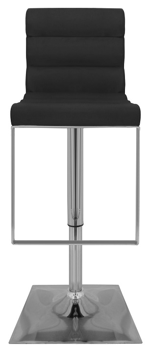 City Kitchen Breakfast Bar Stool Padded Seat Foot Rest Height Adjustable