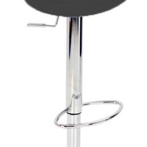 Nuovo Kitchen Bar Stool Black Abs Seat Height Adjustable Swivel Seat