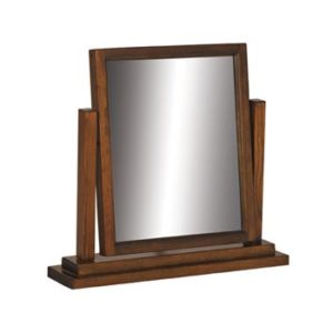 Bermont Dark Antiqued Softwood Mirror