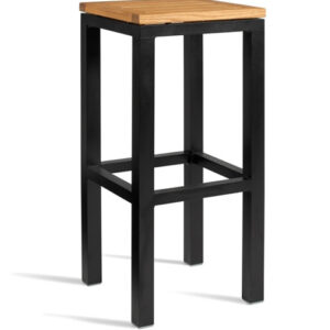 Antarctic Kitchen Bar Stool - Fixed Height Fully Assembled