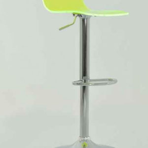 Marquis Lime Green Acrylic Perspex Kitchen Bar Stool Height Adjustable