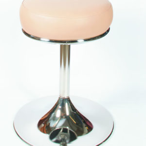 Habon Quality Retro Swivel White Breakfast Bar Stool Fully Assembled