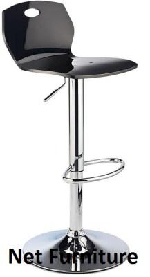 Lyoz Acrylic Bar Stool - Adjustable