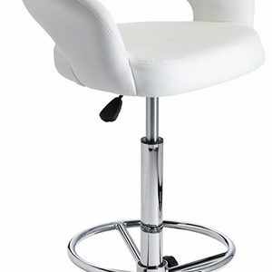 Acquan Bar Stool With Padded Adjustable Swivel Seat