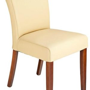 Charro Real Buffalo Leather Legs Dining Chair Padded Seat Fully Assembled