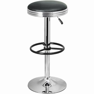 Junior Retro Kitchen Bar Stool Adjustable Swivel