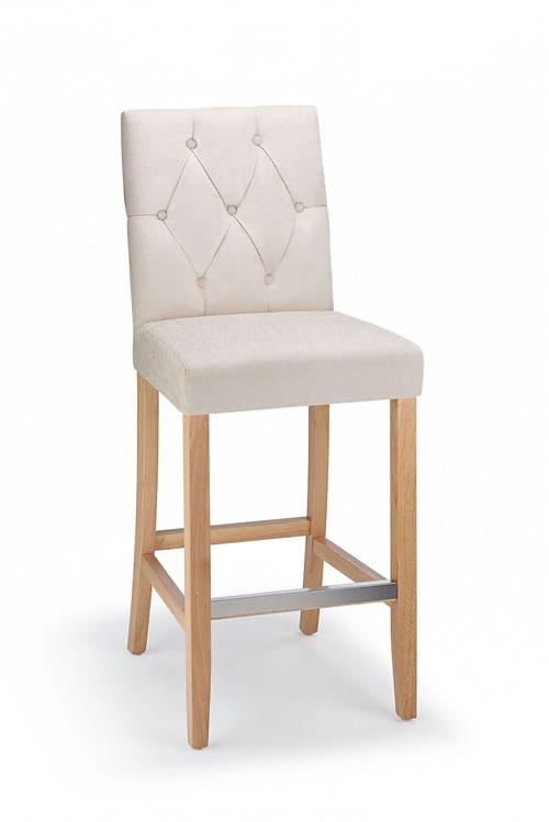 Brilliant Rosco Oak Wooden Kitchen Bar Stool Charcoal Theyellowbook Wood Chair Design Ideas Theyellowbookinfo