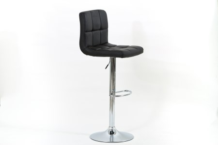 Faith Chrome And Faux Leather Stool Swivel And Adjustable - Pack Of 2 - Range Of Colours