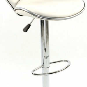 Dove Padded Kitchen Bar Stool Seat And Back Height Adjustable