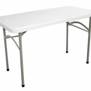 Stabile Foldaway Rectangular Utility Table 4Ft