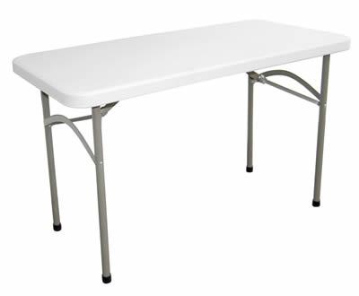 Stabile Foldaway Rectangular Utility Table 4Ft
