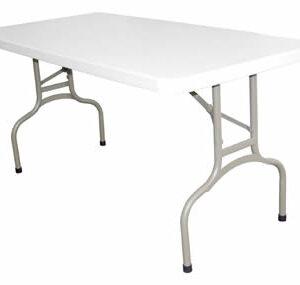 Stabile Quality Foldaway Rectangular Utility Table 5Ft
