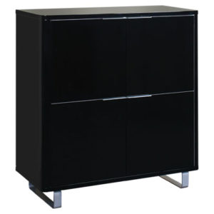 Maudin 4 Drawer Storage / Bookcase Unit