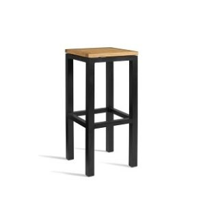 Juneau Fixed Height Bar Stool Fully Assembled