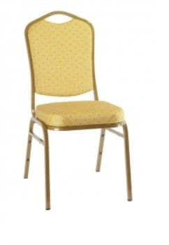 Arc Steel Stackable Banqueting Chair - Upholstered