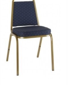 Arco Steel Stacking Chair - Upholstered