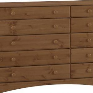 Portugal Antique Pine Chest - 5+5 Drawer Danish Made Quality