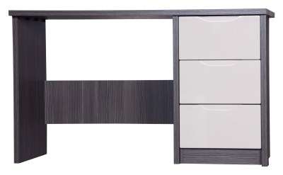 Julia Gloss Quality Bedroom Dressing Table - Fully Assembled Grey Frame Variety Of Drawer Colours