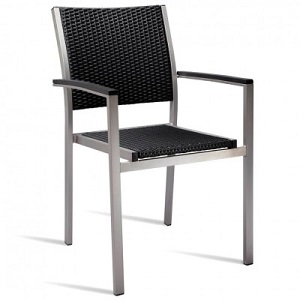 Zanidu Outdoor Aluminium Stackable Armchair