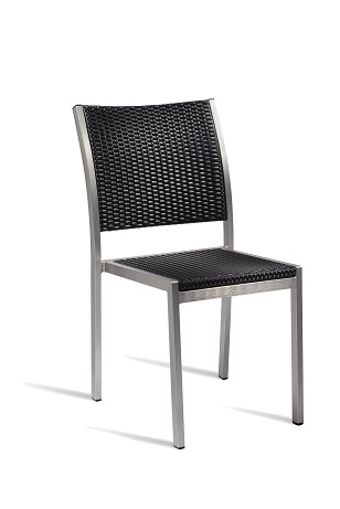 Zanidu Outdoor Aluminium Stackable Side Chair