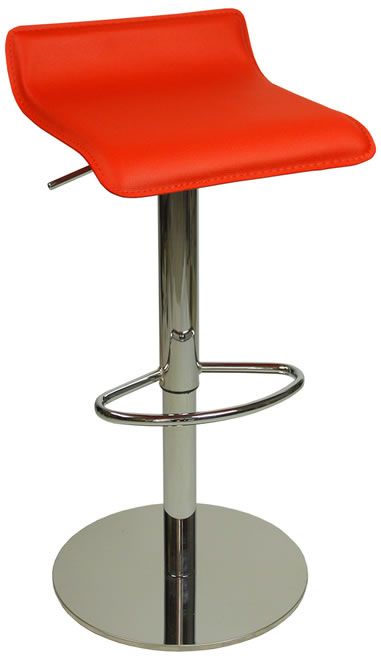 Baconi Deluxe Kitchen Bar Stool Weighted Base 4 Colours