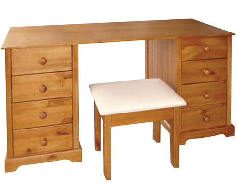 Balsam Pine Dressing Table And Stool