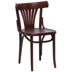 Acob Beech Wood Chair - Walnut Fully Assembled