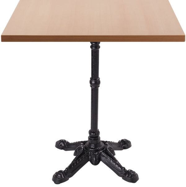 Barron Four Leg Dining Table With Square Top - Beech