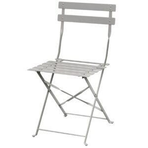Tarzan Metal Slatted Foldaway Chair - Indoor