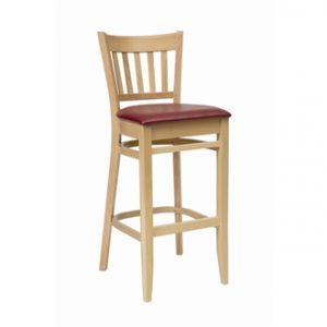 Aly Kitchen Breakfast Stool Padded Fully Assembled