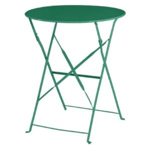 Tarzan Metal Round Table - Colour Selection - Fully Assembled - In/Outdoor