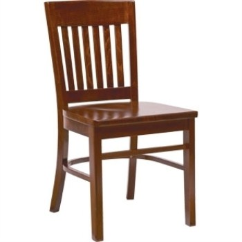 Gail Dining Kitchen Chair - Walnut Frame Fully Assembled