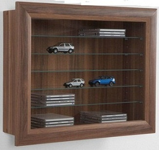 Display Cabinet - Wall Mounted
