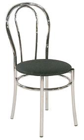 Brind Italian Chair Faux Leather Seat