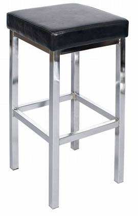 Dako Steel Kitchen Breakfast Bar Stool Fully Assembled Commercial Quality