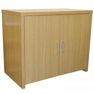 Bonley Oak Sideboard Office Computer Storage Desk - Oak