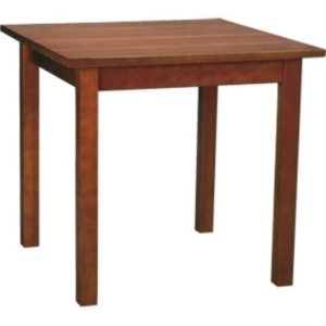 Weston Square Walnut Wood Dining Table