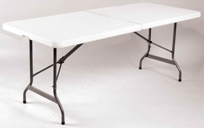 Restine Centre Rectangle Folding Portable Table