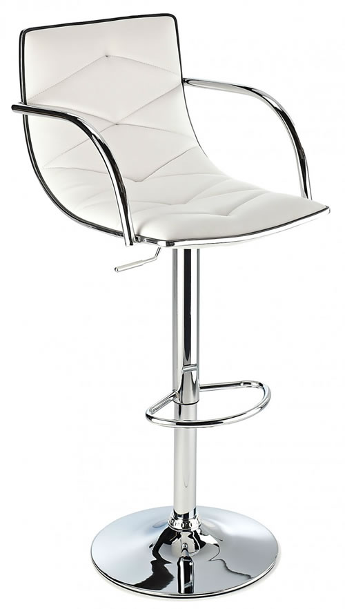 Berkley Quality Kitchen Bar Stool Available In Multiple Colours With Arms Height Adjustable