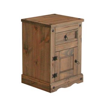 Pereza Bedside Cabinet 1 Door