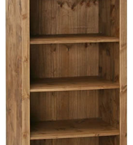 Pereza Mexican Pine Open Bookcase