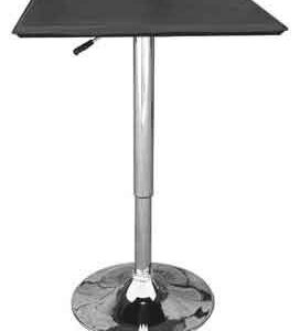 Cumbria Square Black Adjustable Table
