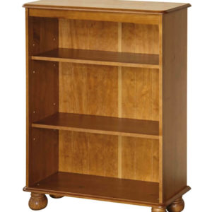 Hamilton Antique Pine Wood 3 Shelf Bookcase