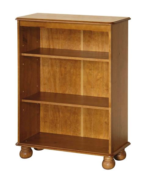 Phenomenal Hamilton Antique Pine Wood 3 Shelf Bookcase Download Free Architecture Designs Remcamadebymaigaardcom