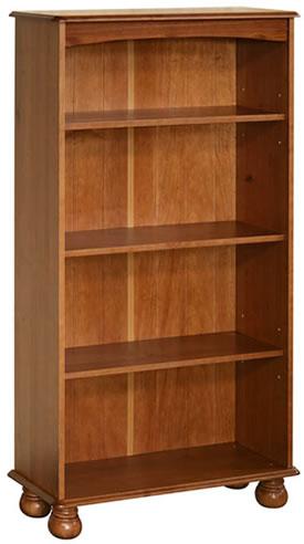 Hamilton Antique Pine 4 Shelf Bookcase